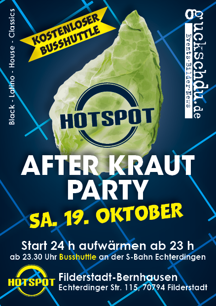 Afterkraut Flyer 2019